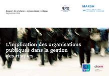 L'implication des organisations publiques dans la gestion des risques