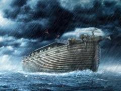 Il ne pleuvait pas encore lorsque Noé construisit son arche.